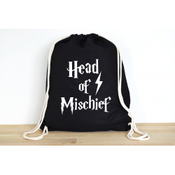 Harry Potter Head of Mischief - Rucksack ODER Jutebeutel