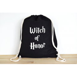 Harry Potter Witch of Honor - Rucksack ODER Jutebeutel