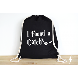 Harry Potter I found a Catch - Rucksack ODER Jutebeutel