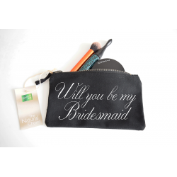 Beauty Bag - Will you be my Bridesmaid