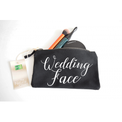 Kosmetiktasche - Wedding Face