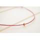 3 Fußkettchen mit Hämatit Perlen in Rosegold, Silber und Antikgold in deiner Wunschbanfarbe!