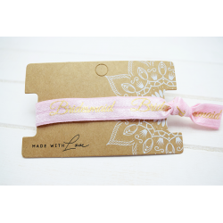 Bridesmaid Hair Tie Rosa