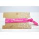 Bridesmaid Hair Tie Pink