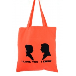 Han Solo und Leia - I love you - I know