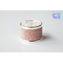 Ring Silber Glitter Vintagerose