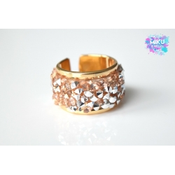 Strass Ring Gold