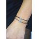 Armband Wunschinitialie Sterling Silber