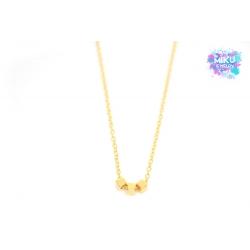 Halskette Würfel Gold
