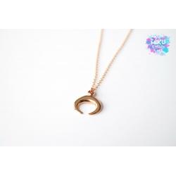 Halskette Horn Rosegold