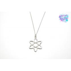 Halskette Atom Silber