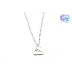 Halskette Papierflieger Silber