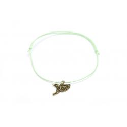Fußkettchen bronzener Kolibri