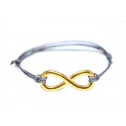 Fußkettchen Infinity Gold