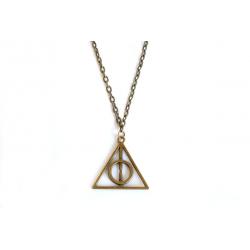 Halskette Heiligtümer des Todes Bronze