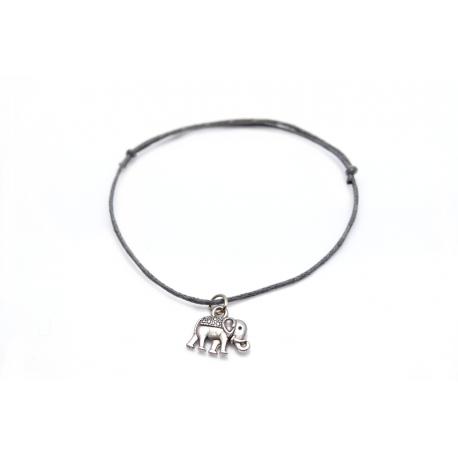 Armband silberner Elefant