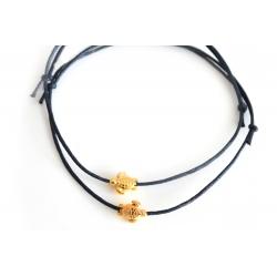 Freundschaftsarmbänder goldene Schlildkröte