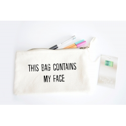 Tasche -  This bag contains my face