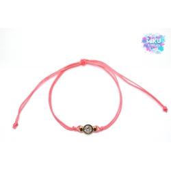Armband rosegoldene Würfelperlen
