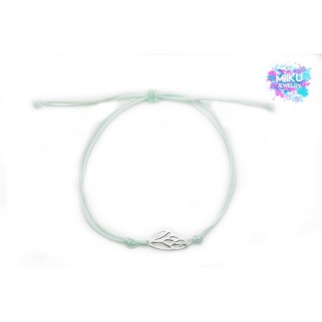 Armband mit Feenflügel aus Sterling Silber