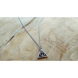 Harry Potter Heiligtümer des Todes Kette Silber