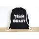 Team Braut - Rucksack ODER Jutebeutel