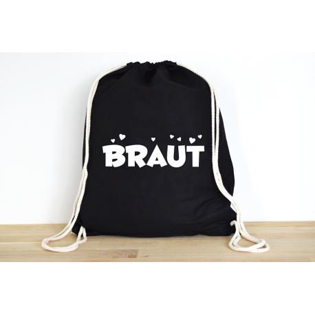 Braut - Rucksack ODER Jutebeutel