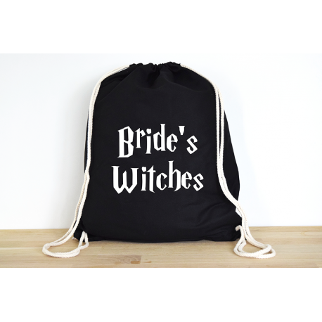Harry Potter Bride's Witches- Rucksack ODER Jutebeutel