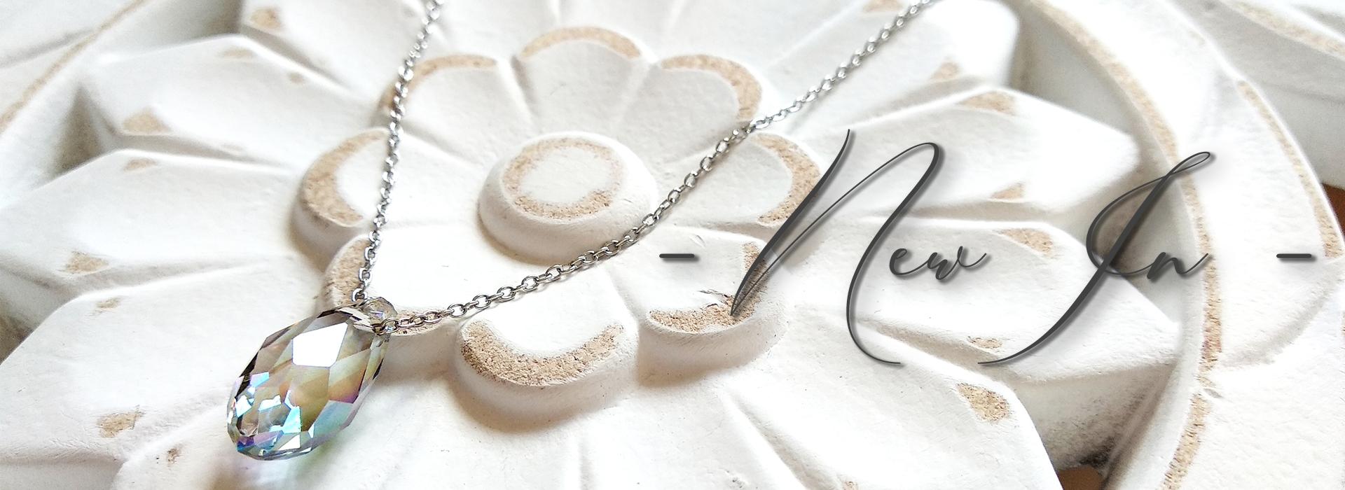 Halskette Kristall